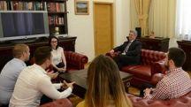 14 08 2016 23 20   Во Охрид свечено отворање на седмата по ред Школа за млади лидери