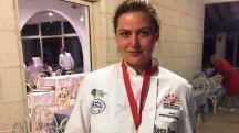24 04 2017 10 32   Бронзен медал на гастрономски натпревар во Црна Гора за ученичката Чутрова од  Ванчо Питошески