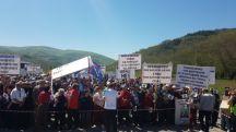 22 04 2018 11 55    Премиере одржи си го зборот  почна протестот во Дебрца против изградбата на депонија