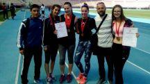 23 04 2018 12 40   Златен и бронзен медал за АК Охрид на Државното првенсто во Скопје